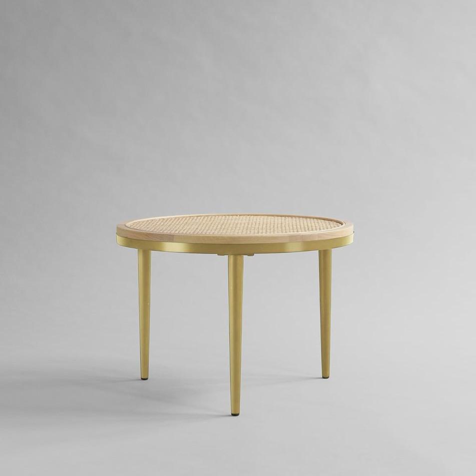 Hako Coffee Table - Brass