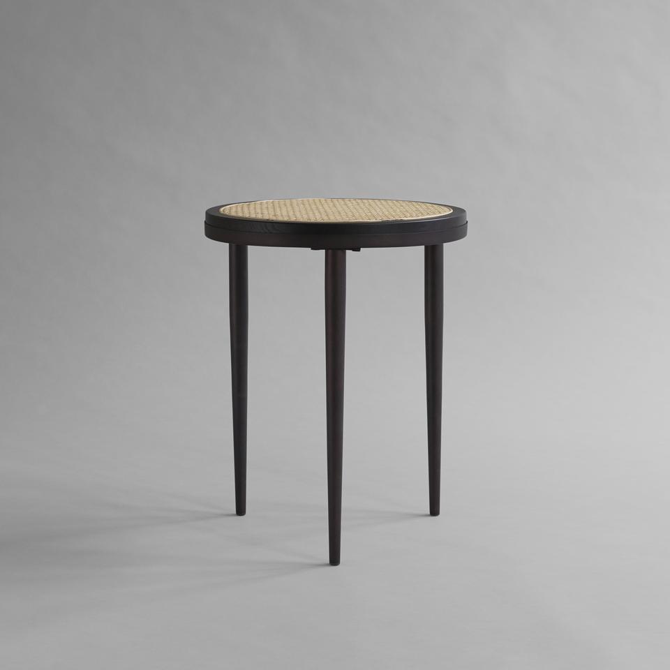 Hako Side Table - Burned Black
