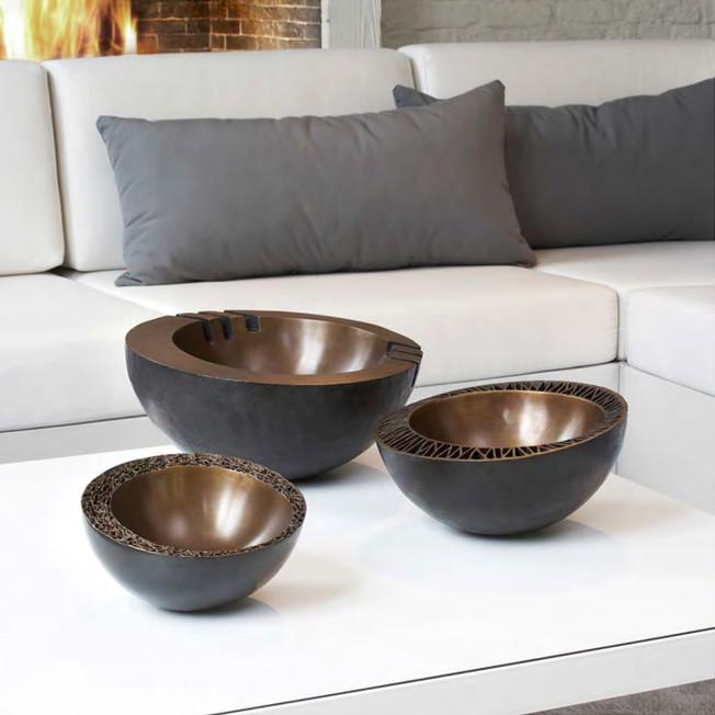 Bronze Bowl Venice, Berlin & Rome