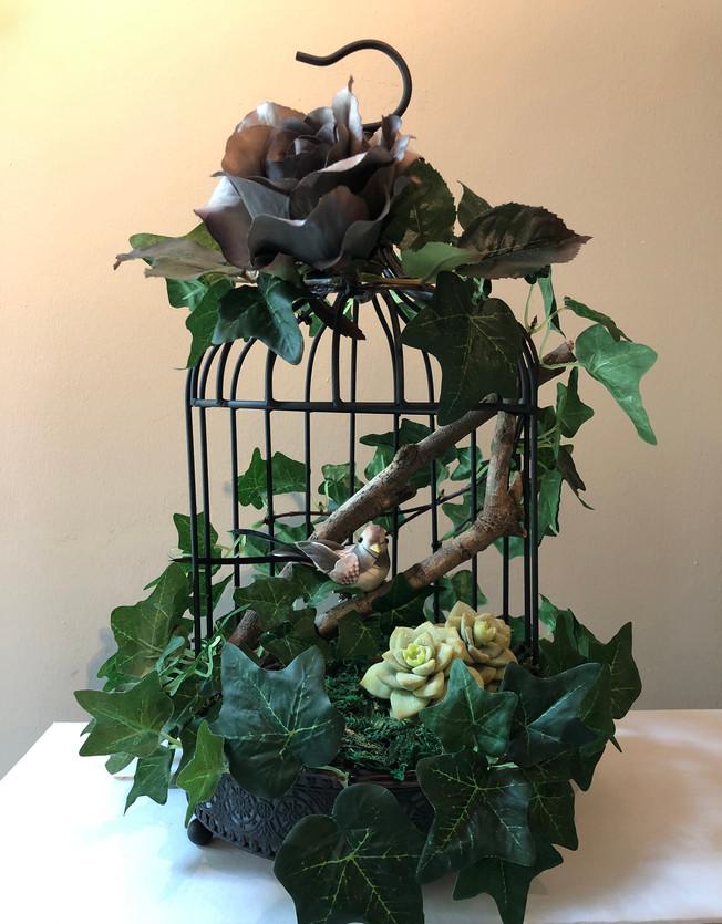 Handmade Birdcage Decor