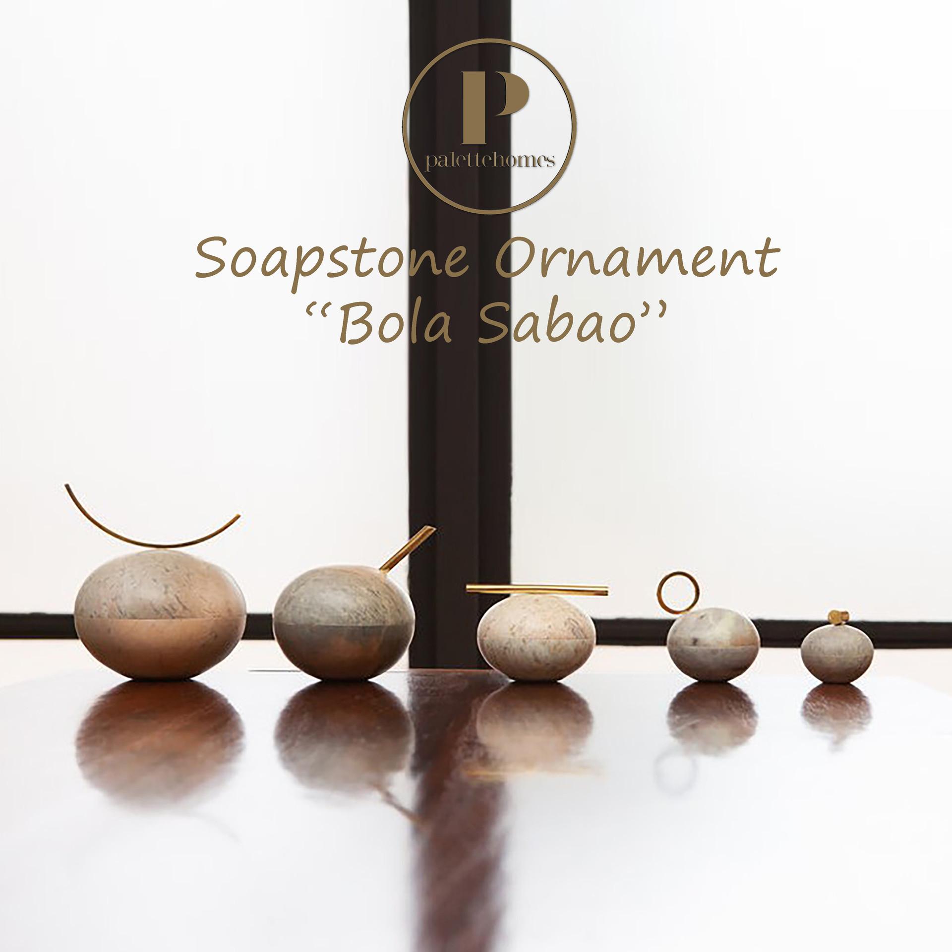 Bola Sabao: Unique soapstone containers