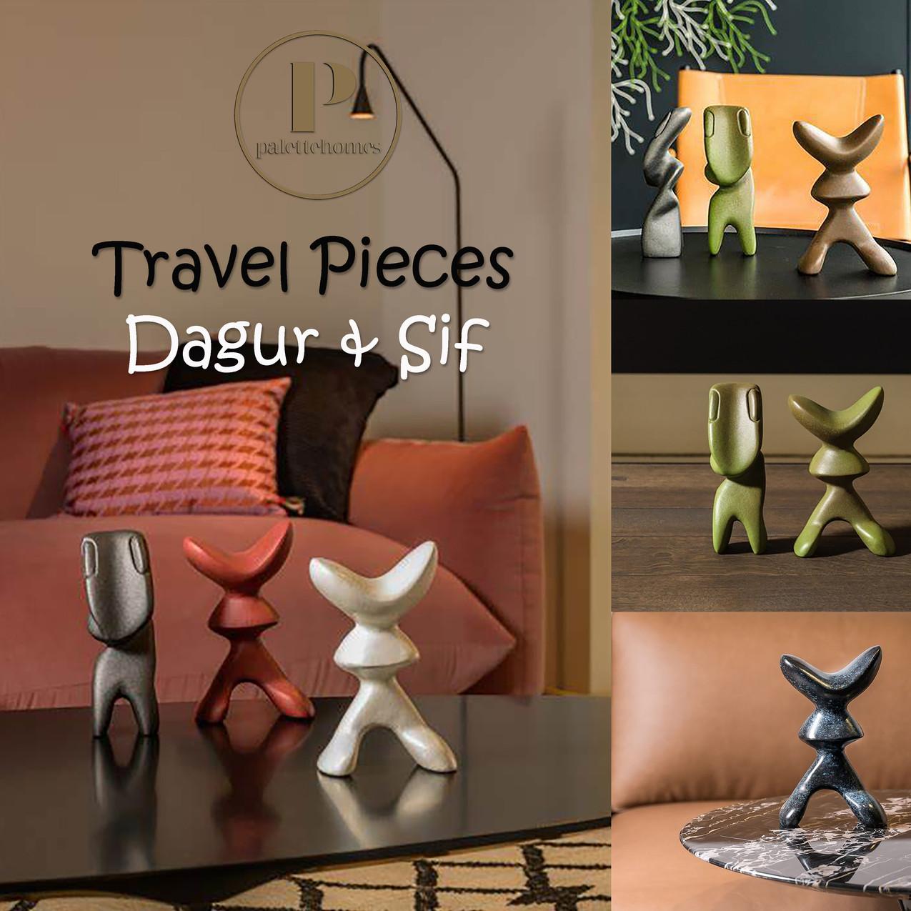 Travel Pieces: Dagur & Sif