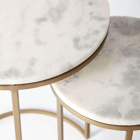 round-nesting-side-tables-marble-antique