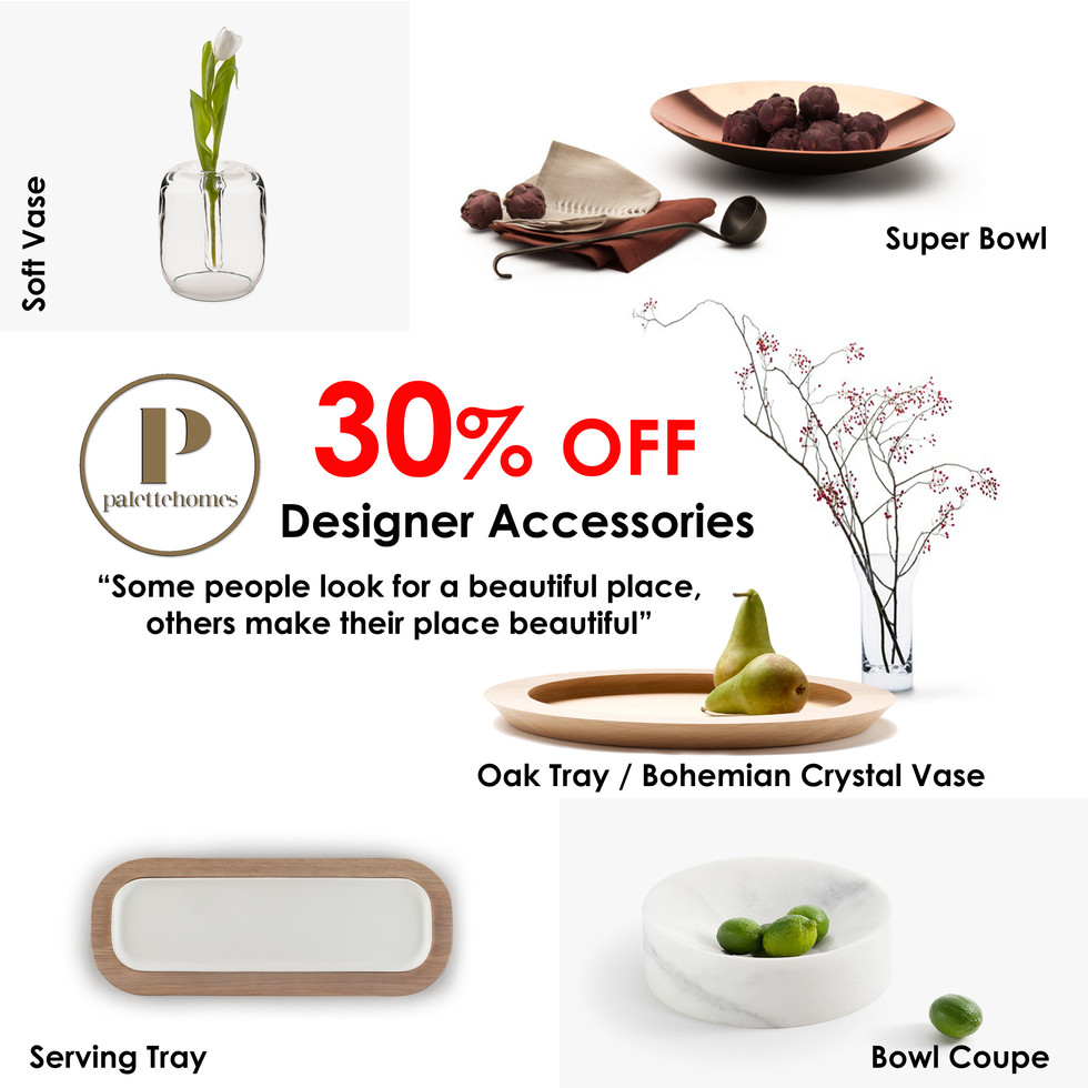WED Deal: 30% off selected Designer Accessories