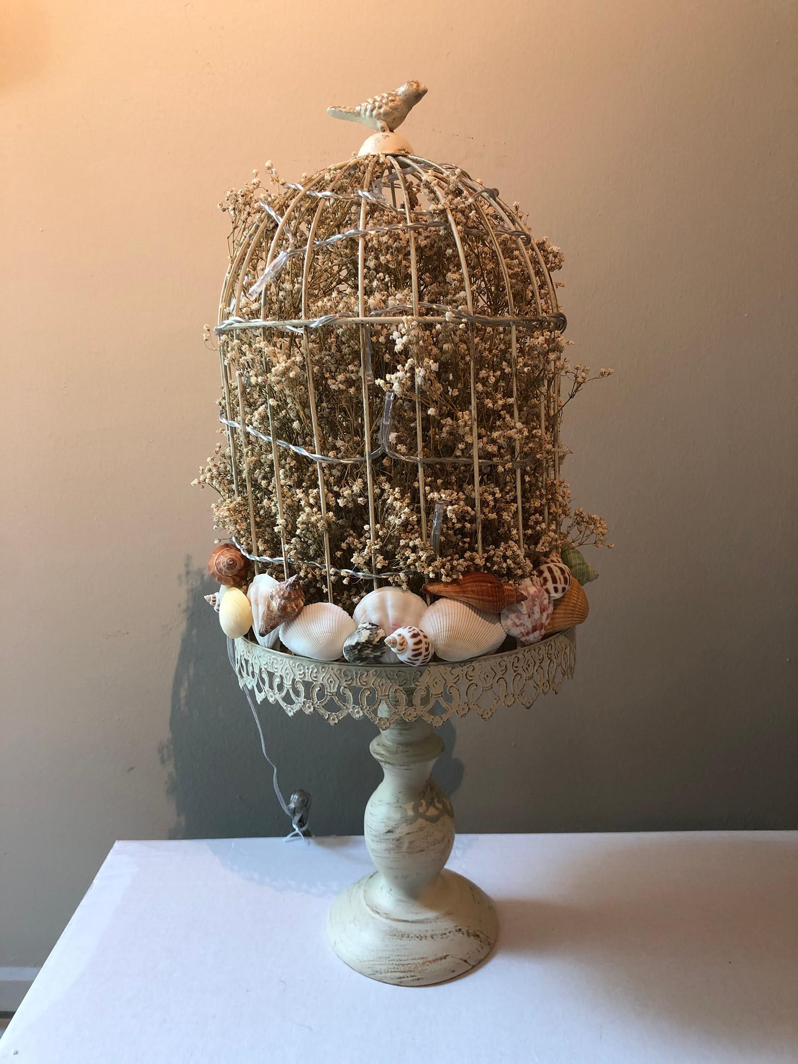 Handmade Seashell Lamp