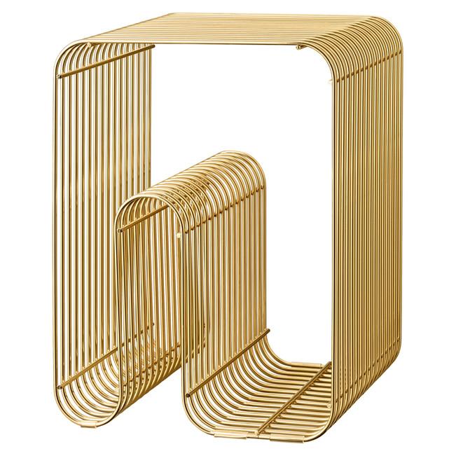 Curva Stool - Brass