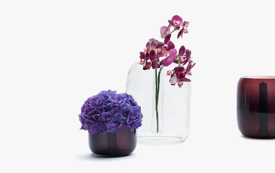 KFM Mouthblown Vases