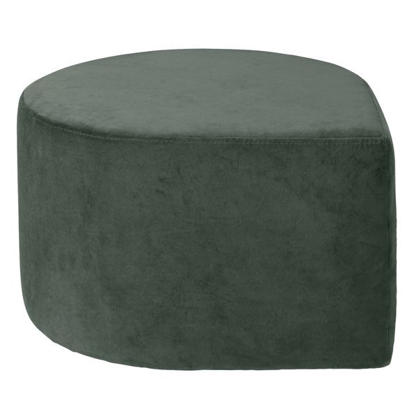 Stilla Pouf - Grey Green