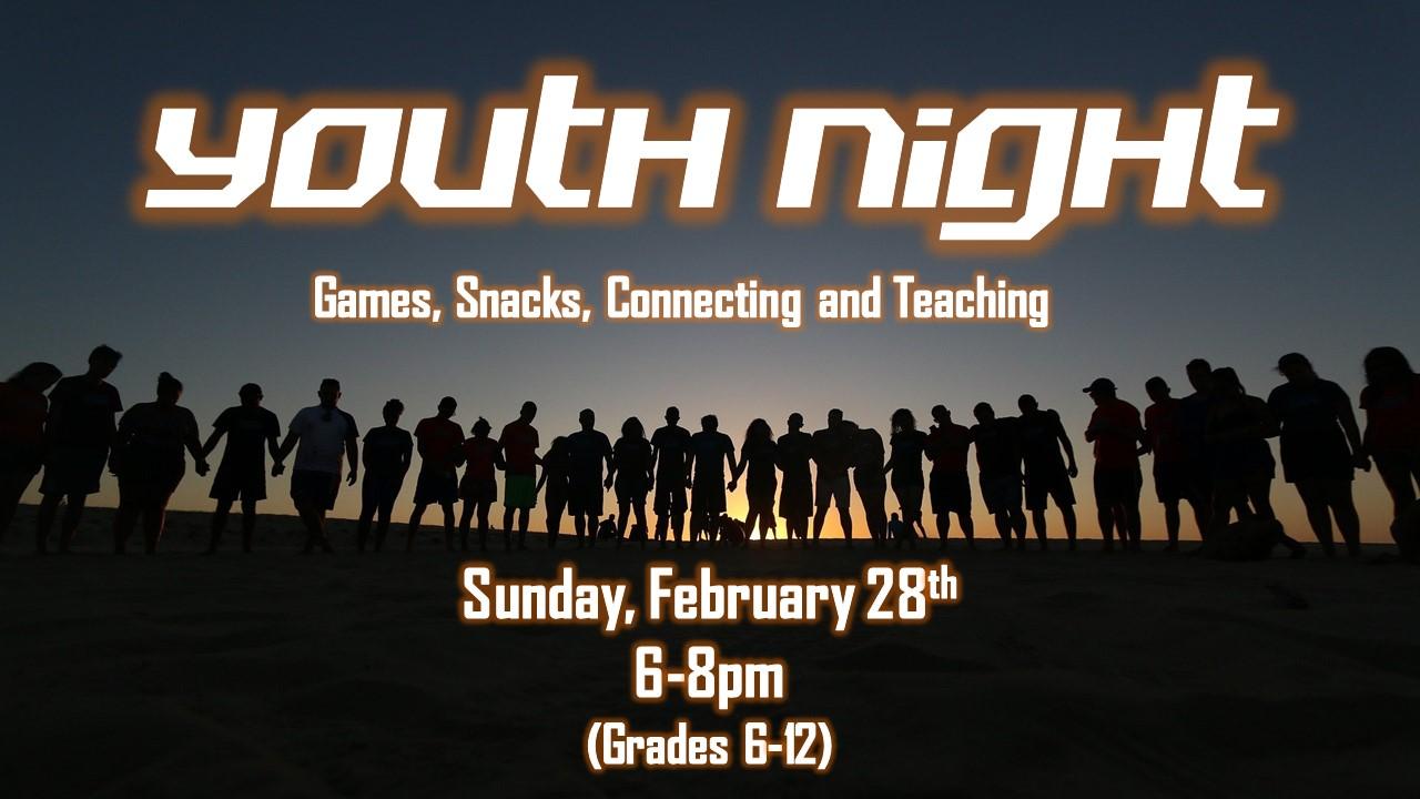 Youth Night 2-28-21