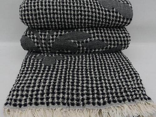 Pure Cotton Turkish Waffle King Blanket