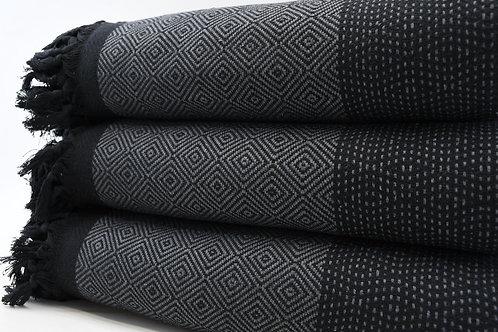Pure Cotton Turkish Throw Aztec Twin Blanket