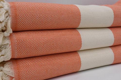 Pure Cotton Turkish Throw Blanket