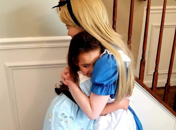 Alice in Wonderland Character Princess Performer Party DC, Maryland, Virginia, Nova Party Princess DMV Enchanted Empowerment