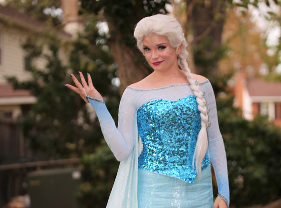 Snow Queen Elsa Frozen Party Character Princess Performer Party DC, Maryland, Virginia Party Princess DMV Enchanted Empowerment