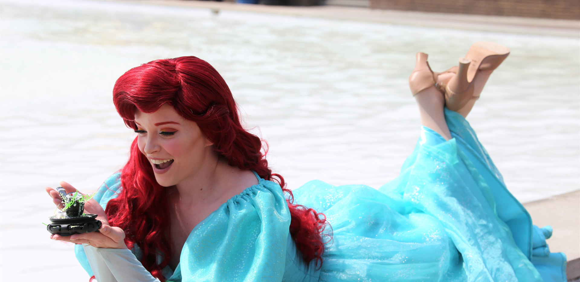 Little Mermaid Character Princess Performer Party DC, Maryland, Virginia Party Princess DMV Enchanted Empowerment