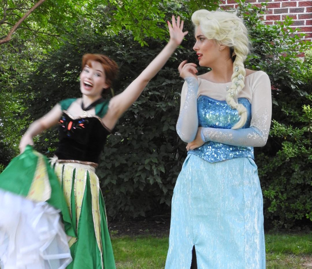 Snow Princess Frozen Party Character Princess Performer Party DC, Maryland, Virginia Party Princess DMV Enchanted Empowerment