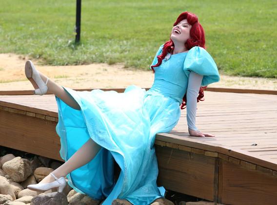 Ariel Little Mermaid Character Princess Performer Party DC, Maryland, Virginia Party Princess DMV Enchanted Empowerment