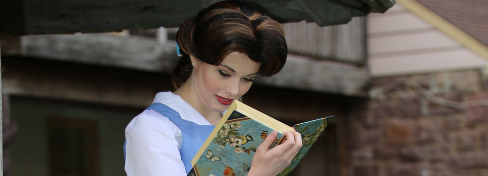 Beauty and the Beast Character Princess Performer Party DC, Maryland, Virginia Party Princess DMV