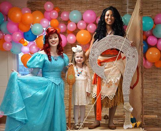 Island Wayfinder luau Party Character Princess Performer Party DC, Maryland, Virginia Party Princess DMV Enchanted Empowerment