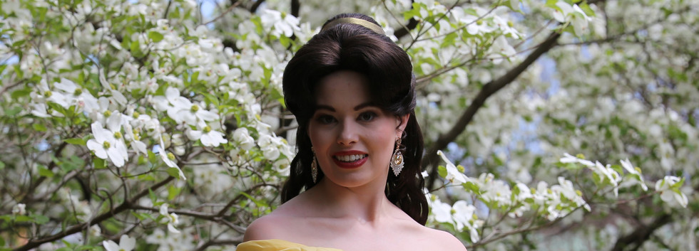 Beauty and the Beast Character Princess Performer Party DC, Maryland, Virginia Nova Party Princess DMV Enchanted Empowerment