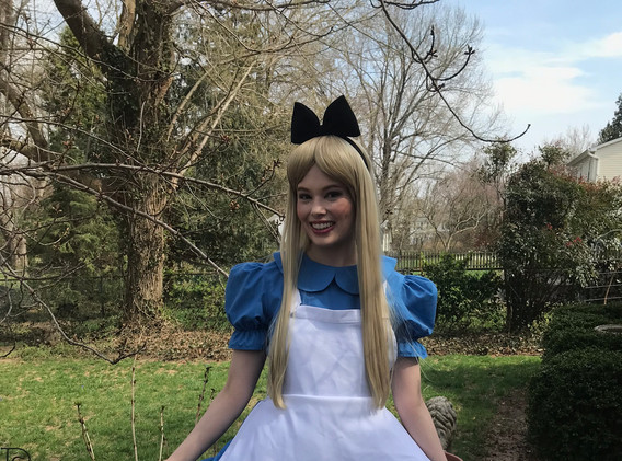 Alice in Wonderland Character Princess Performer Party DC, Maryland, Virginia, Nova Party Princess DMV Enchanted Empowerment