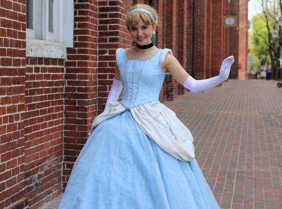 Cinderella Character Princess Performer Party DC, Maryland, Virginia, nova, Party Princess DMV Enchanted Empowerment