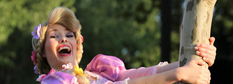 Rapunzel Tangled Character Princess Performer Party DC, Maryland, Virginia Nova Party Princess DMV Enchanted Empowerment