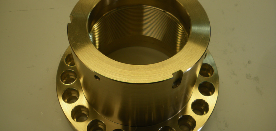 Manual Turned Aluminium Part.JPG