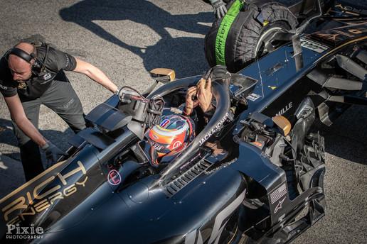 Barcelona F1 testing days