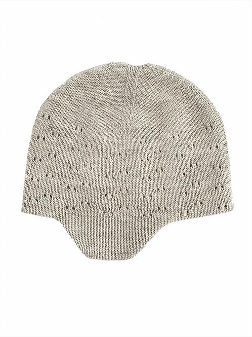 Chapeau Dua gris chiné - Hvid