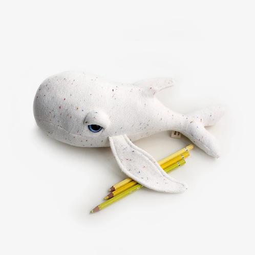 Mini Albinos Whale BigStuffed