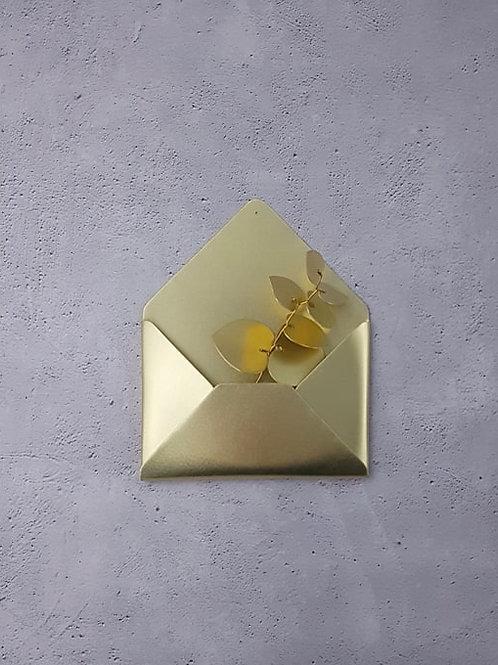 Enveloppe dorée Delphine Plisson
