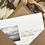 Carte postale 'Là-Bas' - Papillonnage