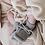 Thumbnail: Chaussons gris chiné - Hvid