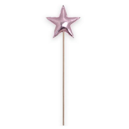 Baguette magique étoile Rose - Mouche