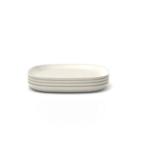 Assiette Moyenne Off White - Ekobo