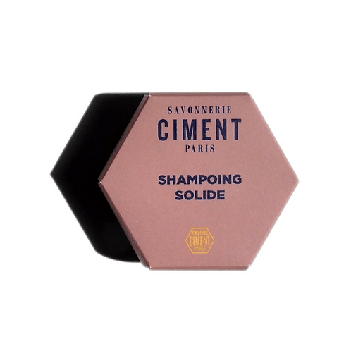 Shampoing solide moussant Ciment Paris