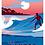 Affiche Les Landes, Surfer - Les Affichistes