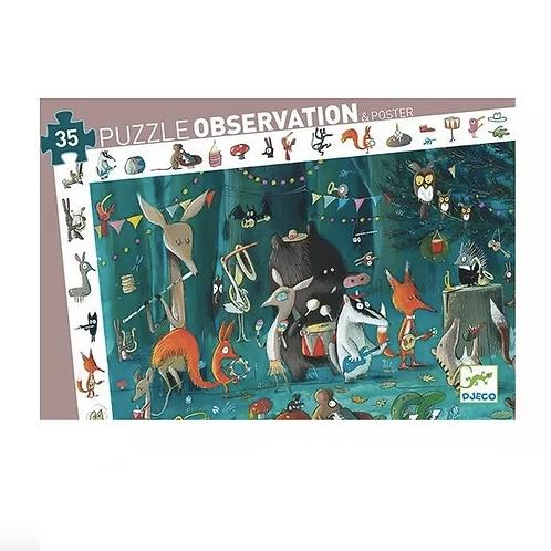 Puzzle d'observation l'orchestre - Djeco