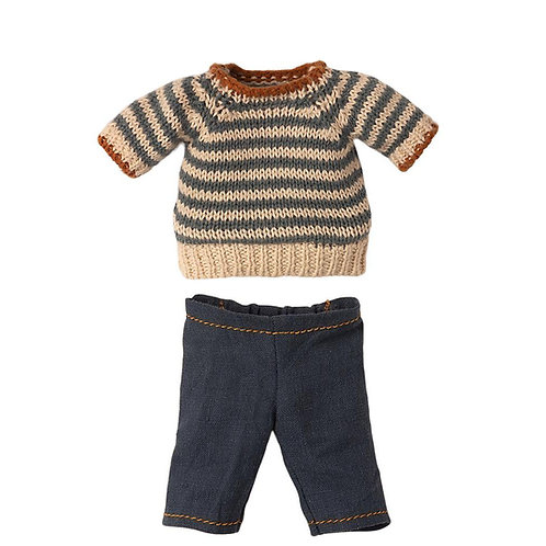 Blouse and pants Teddy Dad - Maileg