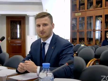 Выступил в качестве спикера на международной конференции в ТПП РФ