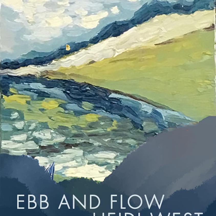 Gallery Reception: Ebb & Flow by Heidi West w/ DIY Keychains