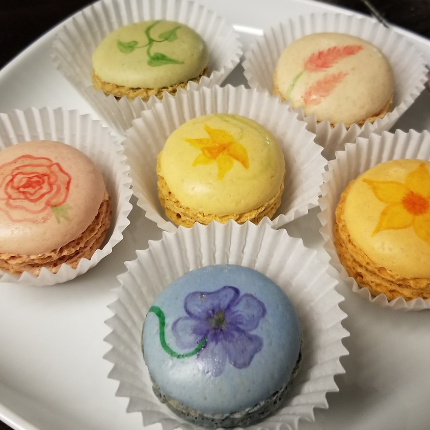 DIY Painted French Macarons