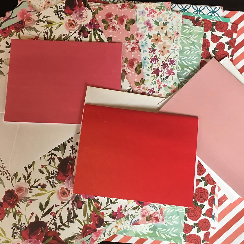 Valentine's Cardmaking Drop-In Workshops