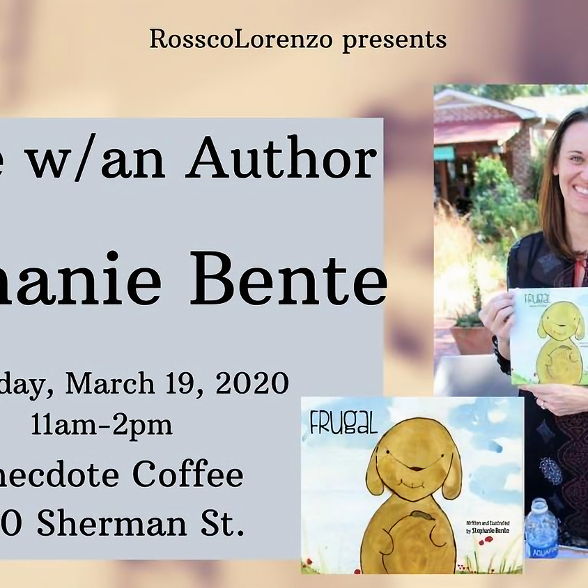 Coffee w/Author Stephanie Bente