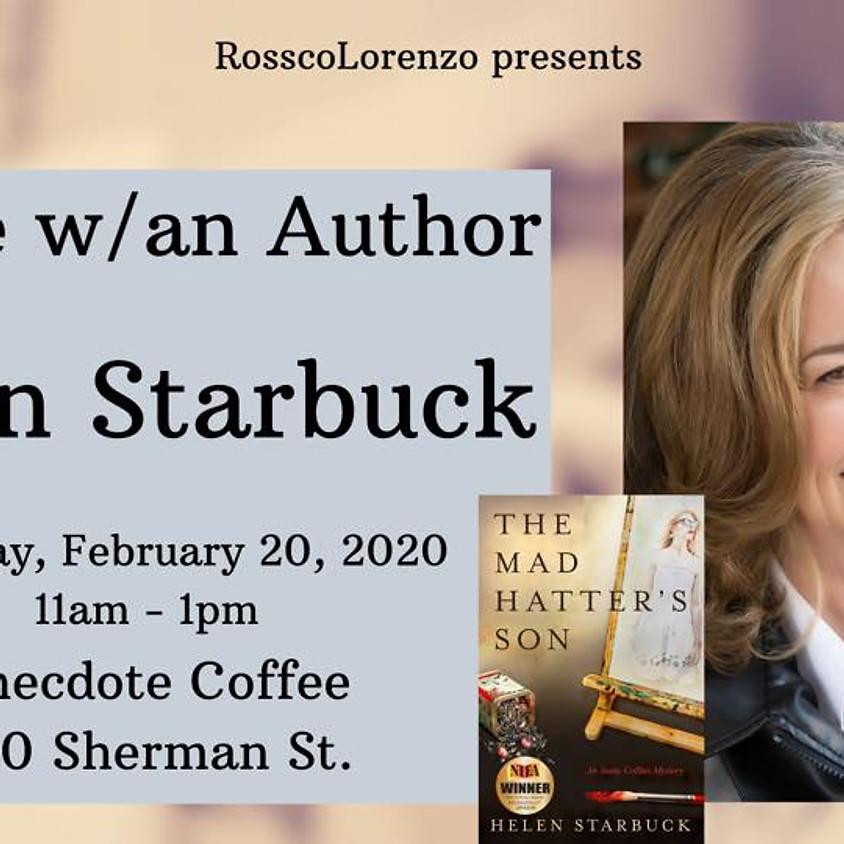 Coffee w/Author Helen Starbuck