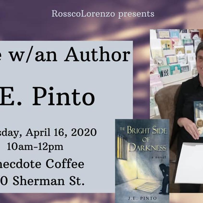 Coffee w/Author J.E Pinto