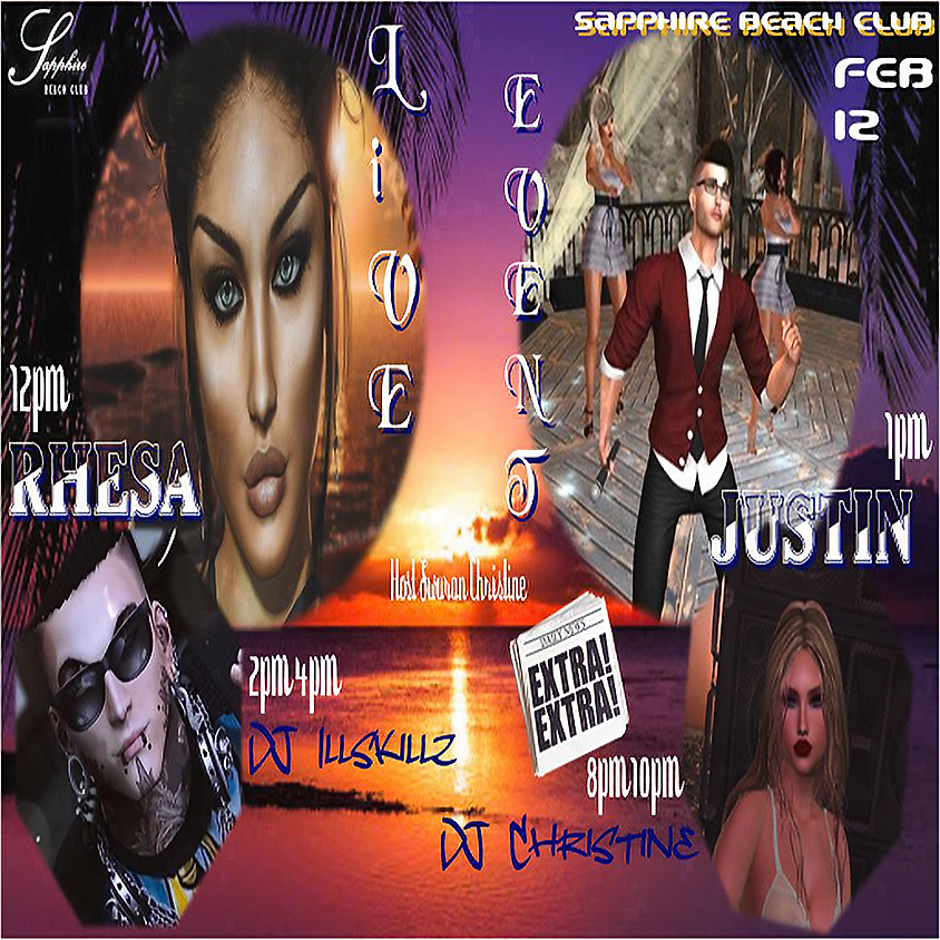 WEDNESDAY LIVE EVENTS & PARTY/ RHESA & JUSTIN & DJ SKILLZ & DJ ACE