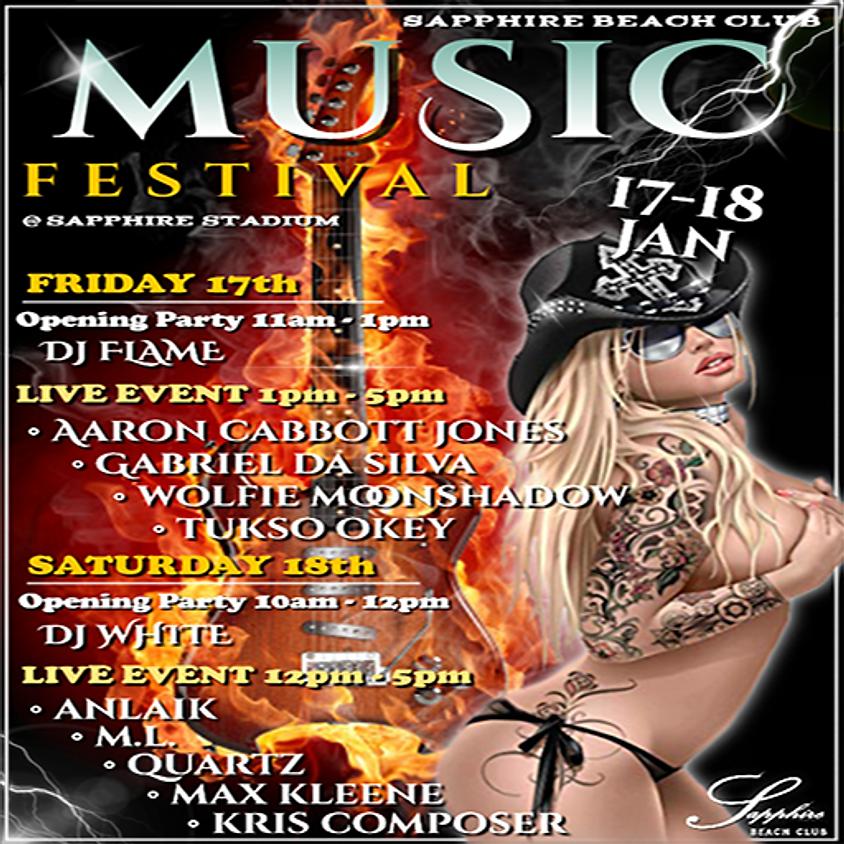 SATURDAY LIVE EVENT & PARTY/ ANLAIK & M.L. & QUARTZ & MAX KLEENE & KRIS COMPOSER & DJ WALT WHITE