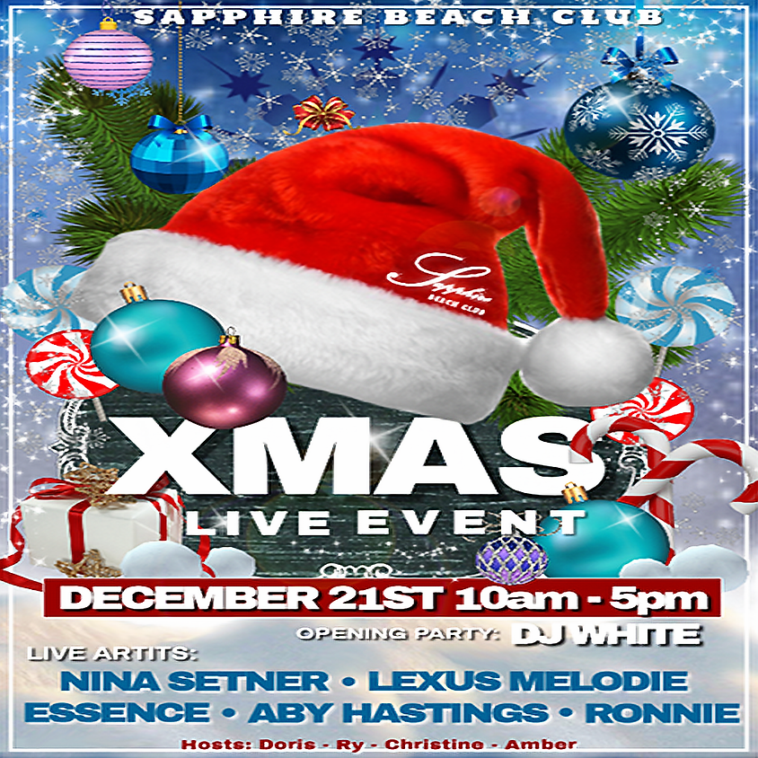 SATURDAY LIVE EVENTS & PARTY / NINA SETNER & LEXUS MELODIE & ESSENCE & ABY HASTINGS & RONNIE ARTANO &  DJ WHITE